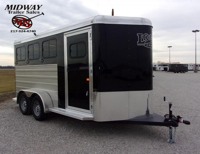 "2021 Logan Coach BullsEye 3H w/0"" Dress BP Horse Trailer"