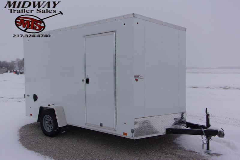 2021 Look Trailers ST DLX 7 X 12' SA BP Enclosed Cargo Trailer