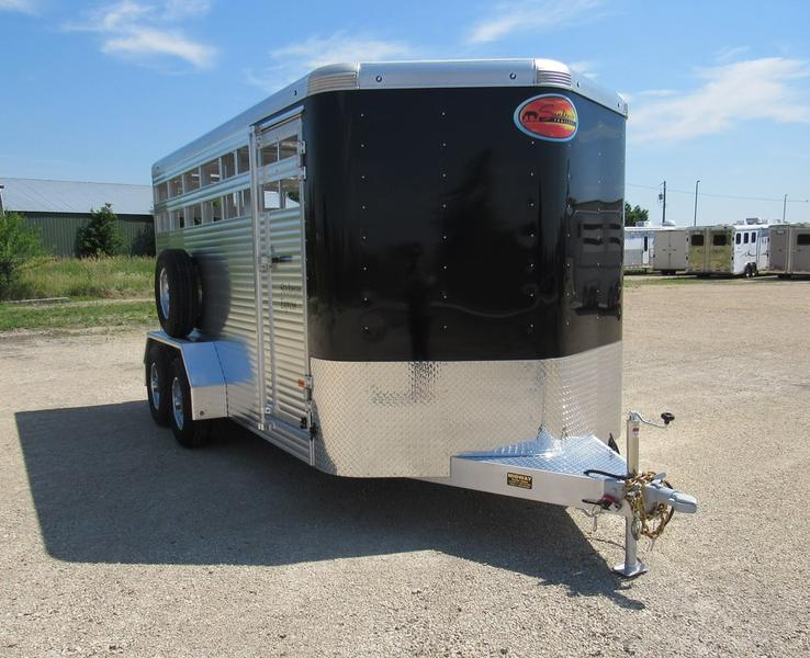 "2021 Sundowner Trailers 6'9"" X 7' X 16' Stockman BP Horse Trailer"
