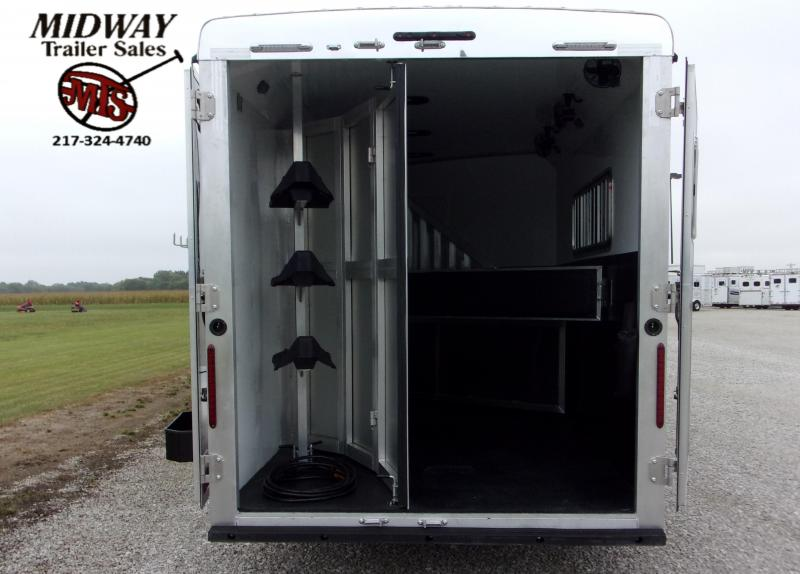 2021 Bison Trailers 7308 Scout w/ 8' SW Horse Trailer