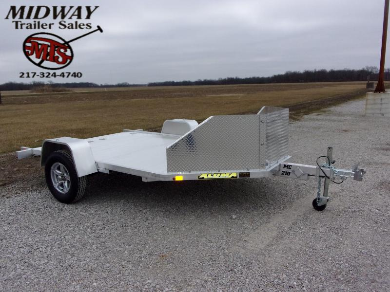 2022 Aluma MC210 Motorcycle Trailer SA BP Motorcycle Trailer