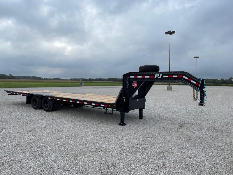 2022 PJ Trailers 102 X30' (20+10) Low Po Flatbed GN Flatbed Trailer
