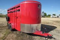 2021 S&S Manufacturing 16' Livestock Livestock Trailer