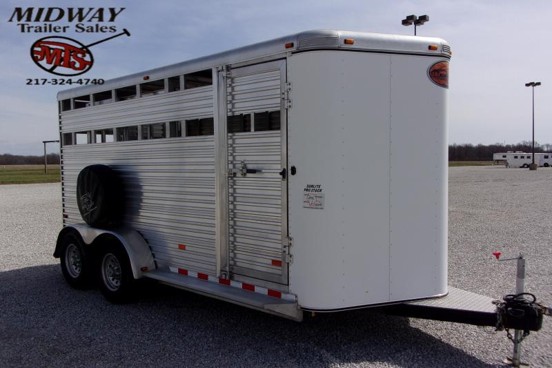 2007 Sundowner Trailers Sunlite Stock BP Livestock Trailer