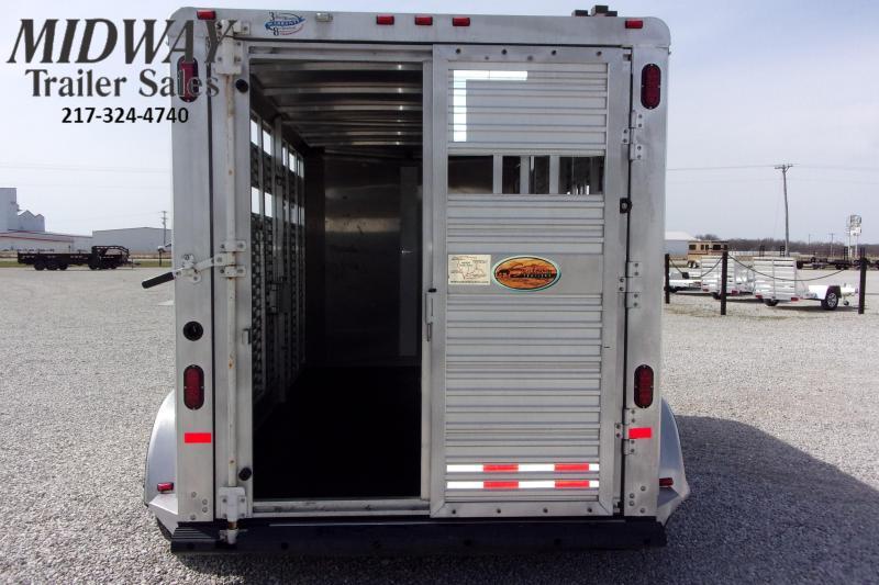 2007 Sundowner Trailers Sunlite Stock BP Livestock Trailer