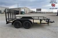 2021 Big Tex Trailers 77 X 12' 60 PI-PIPE Utility Utility Trailer