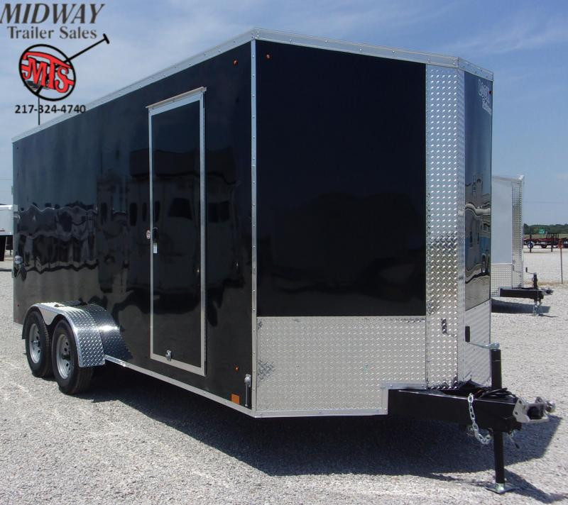 2021 Look Trailers Element SE 7 X 18' TA BP Enclosed Cargo Trailer