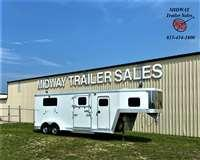 2006 Keifer Built 2+1 Genesis w/5' Dress Horse Trailer