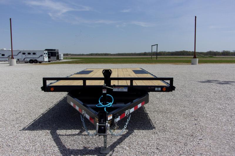 """2021 PJ Trailers 18' X 6"""" Med Duty 6"""" CH Deckover TA BP Other Equipment"""