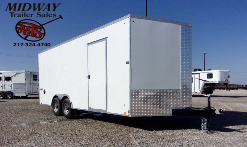 2021 Look Trailers Element 8.5 X 20' TA BP Enclosed Cargo Trailer