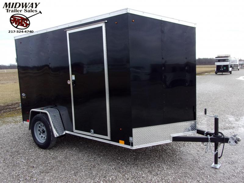 2021 Look Trailers ST DLX 6 X 10' SA BP Enclosed Cargo Trailer