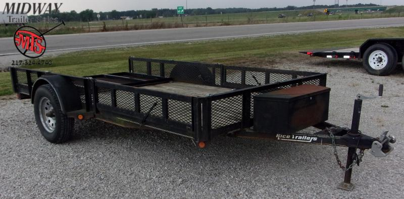 2011 R and W Trailers 6 X 12' Utility SA BP Utility Trailer