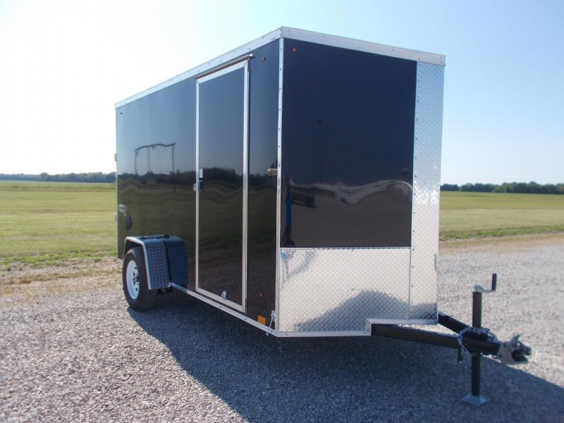 2021 Look Trailers Element SE 6X12' Flat Top SA BP Enclosed Cargo Trailer