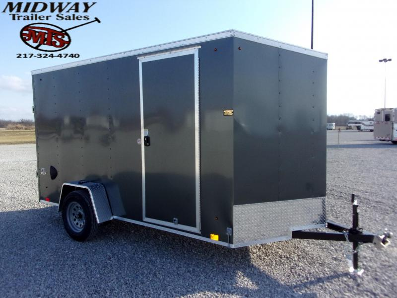 2021 Look Trailers ST DLX 6 X 12' SA BP Enclosed Cargo Trailer