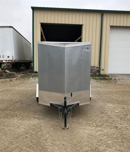 2021 Look Trailers ST DLX 5 X 8' SA BP Enclosed Cargo Trailer