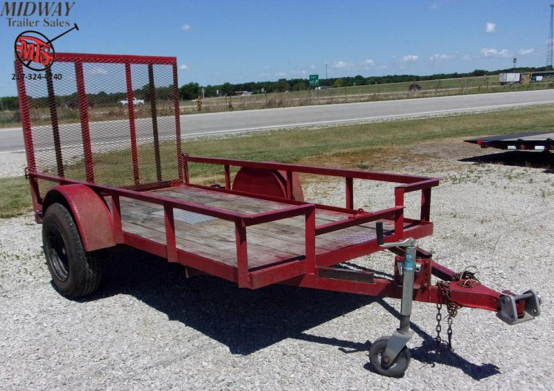2000 Other Trailer Express 5 X 10' Utility SA BP Utility Trailer