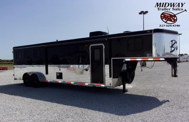 2013 Bison Trailers 310 Trailer Express Horse Trailer