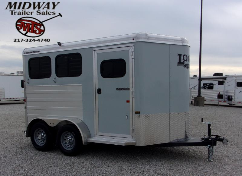 "2020 Logan Coach Bullseye 2H w/0"" Dress BP Horse Trailer"