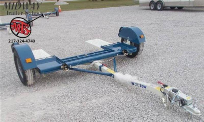 2020 Stehl Tow 8 X 4' Tow Dolly SA BP w/ Hyd Surge Brakes