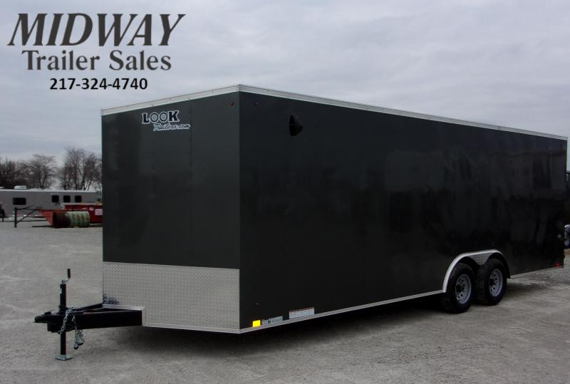 2021 Look Trailers ST DLX 8.5 X 24' TA BP Enclosed Cargo Trailer