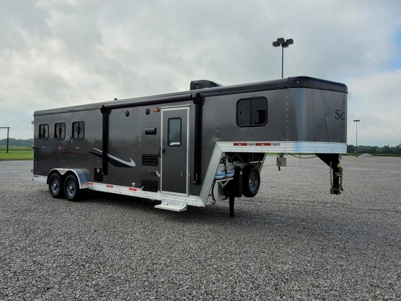 2022 Bison Trailers 7308 Scout w/8'SW Enclosed Cargo Trailer