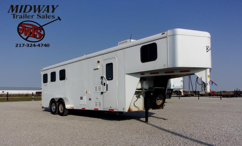 2012 Bison Trailers 380 Trail Hand Horse Trailer