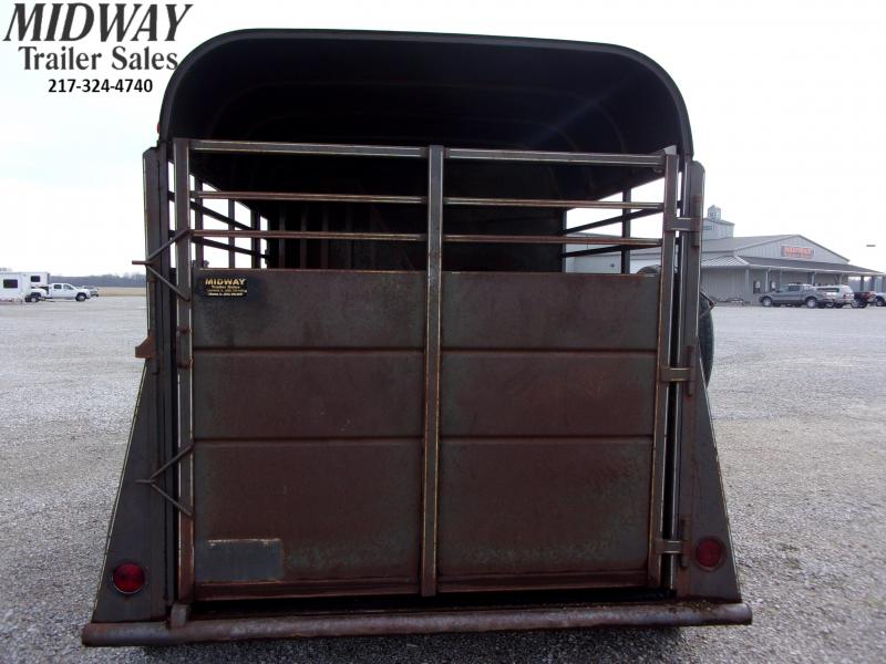 2000 Calico Trailers 2H Stock Combo Horse Trailer