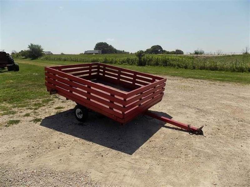 "1997 Homemade 6' x 7'8"" Single Axle Utility Trailer"