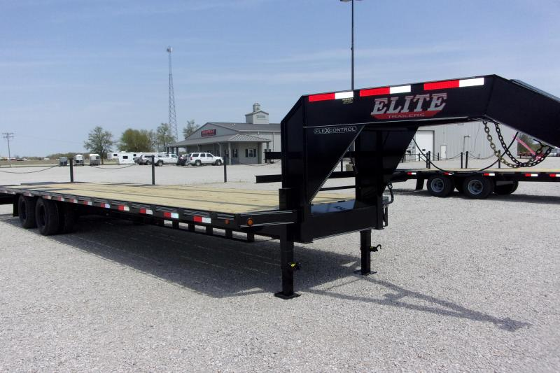 2021 Elite Trailers 102 x 30' (30+5) TD Flatbed GN Other Equipment