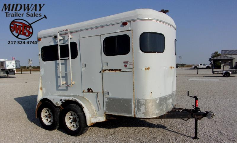 1986 Other Log Cabin 2H Straight Horse Trailer