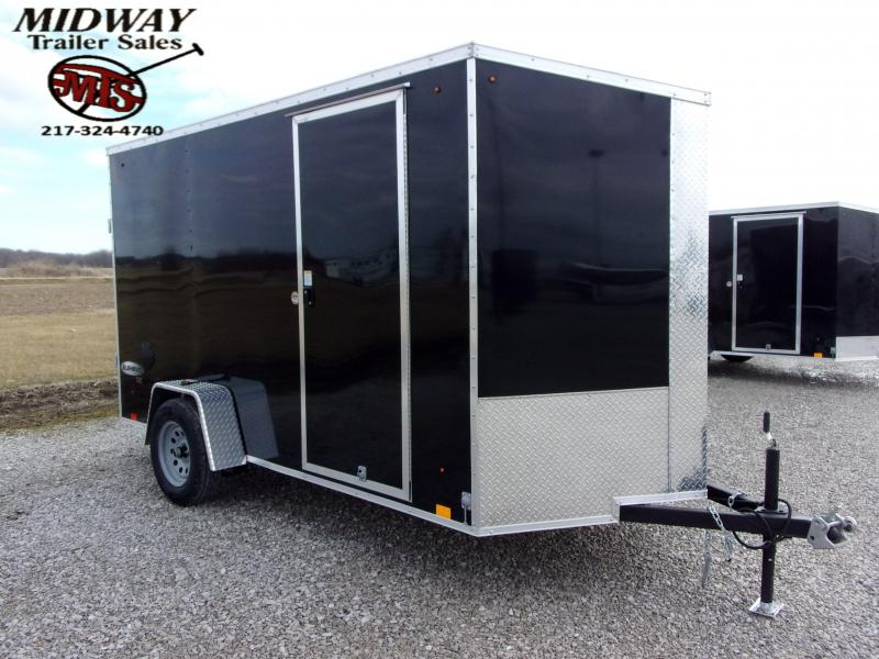 2021 Look Trailers Element SE 6 X 12' SA Bp Enclosed Cargo Trailer