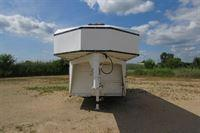 1997 Titan Trailers Stock Combo w/8'SW Front Dress GN Horse Trailer