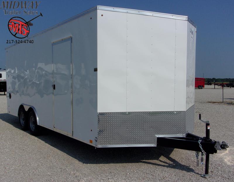 2021 Look Trailers ST Auto Hauler DLX 8.5 X 20' TA BP Enclosed Cargo Trailer