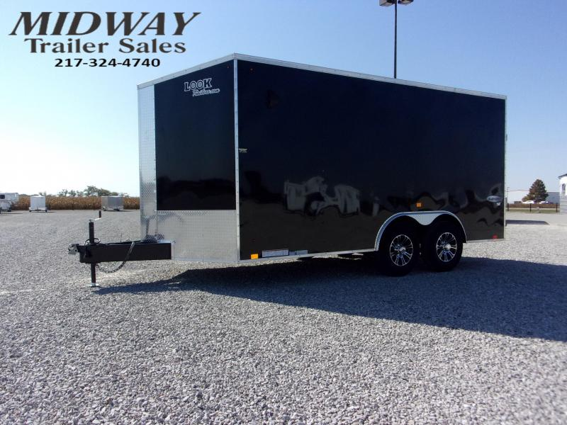 2021 Look Trailers 8.5 x 16' Element Auto Flat Enclosed Cargo Trailer