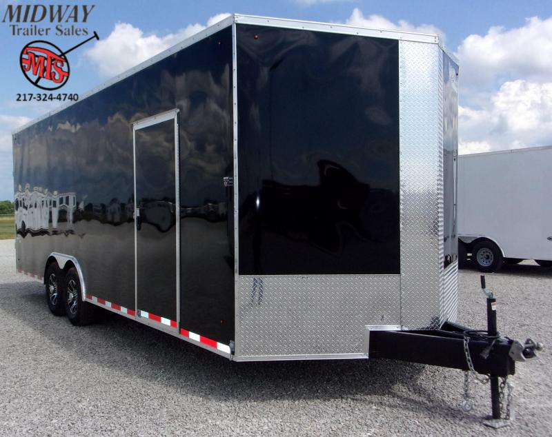 2021 Look Trailers Element SE 8.5 X 24' Auto Hauler TA BP Enclosed Cargo Trailer