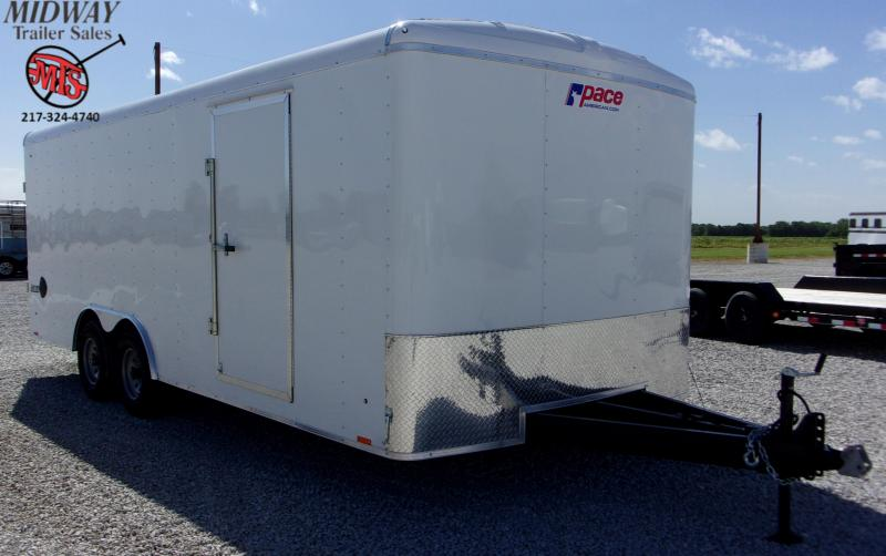 2021 Pace American Journey 8.5 X 20' TA BP Enclosed Cargo Trailer