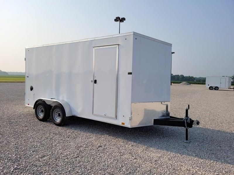 2022 Look Trailers ST Cargo DLX Flat 7' X 16 ' TA BP Enclosed Cargo Trailer