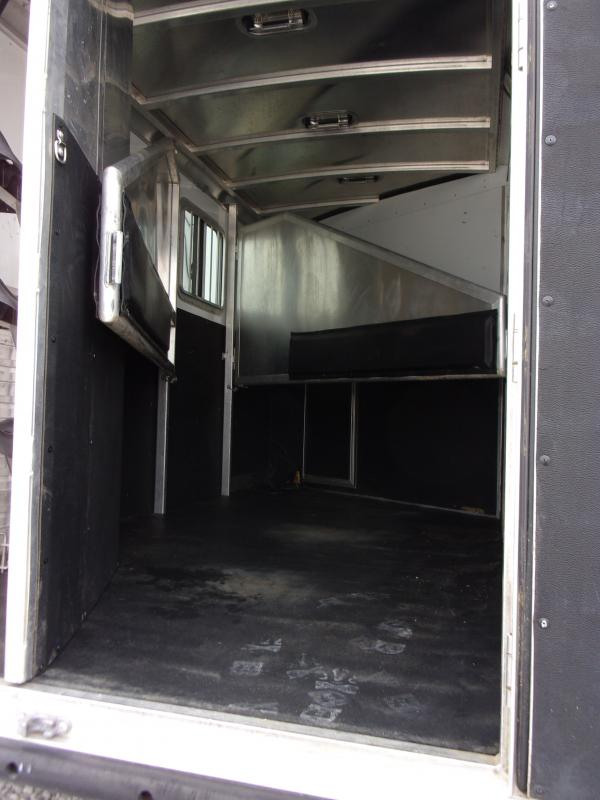 2012 Exiss Trailers 3H with 8'ft Living Quarters Enclosed Cargo Trailer