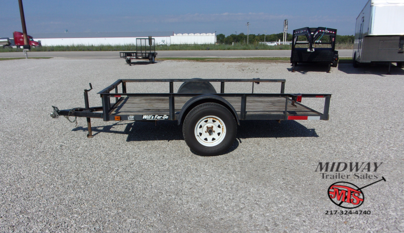 2000 Bison Trailers Trail Hand 6' X 7' X 16' Stock w/ 3' SW Dress Horse Trailer