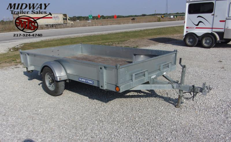 2016 Sure-Trac 6 x 10 Tilt BP Utility Trailer
