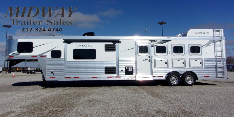 2021 Lakota Charger 8415 4H Horse Trailer