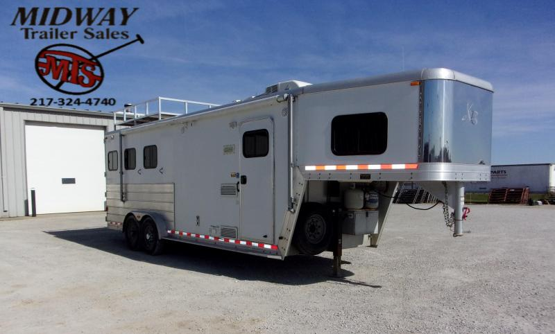 2005 Kiefer Built 3H X340 LQ Horse Trailer