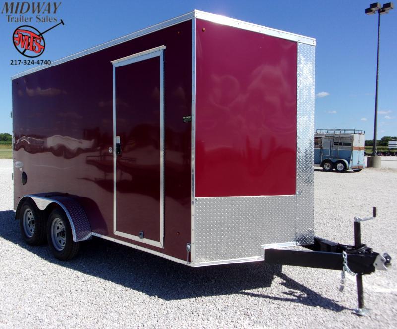 2021 Look Trailers Element SE 7 X 14' TA BP Enclosed Cargo Trailer