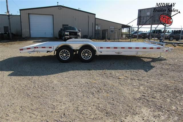 2021 H and H Trailer 8.5x20(18+2) Aluminum Heavy Duty Equipment Equipment Trailer