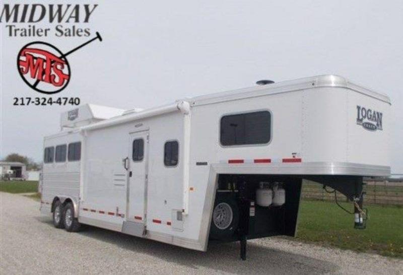 2019 Logan Coach Limited 810 3H w/ 10' SW and Slide