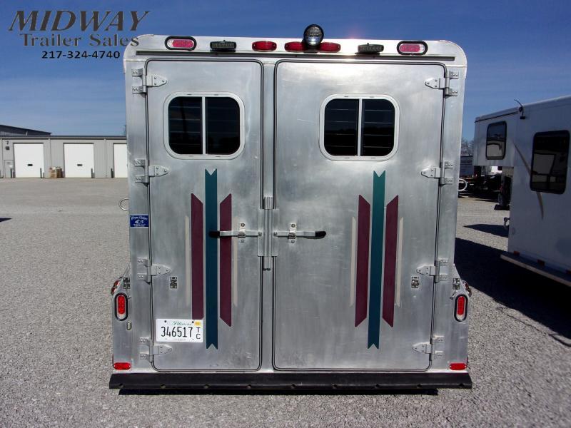 2000 4-Star Trailers 2H BP Horse Trailer