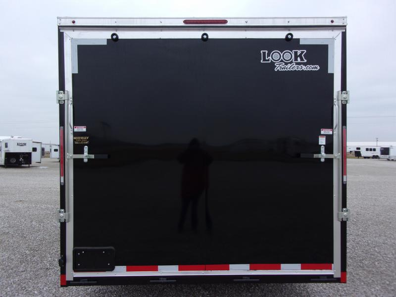 2021 Look Trailers 8.5 X 32' Flat Top Cargo GN Enclosed Cargo Trailer