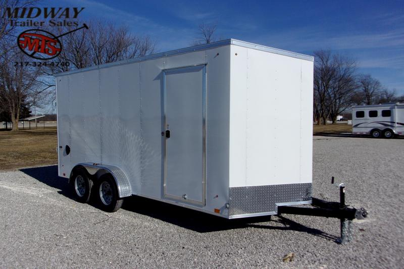 2021 Look Trailers ST DLX 7 X 16' TA BP Enclosed Cargo Trailer