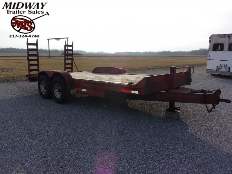 2005 Other 18'(16+2) Equip BP Equipment Trailer