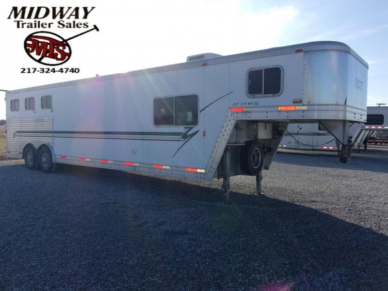 2002 Exiss Trailers XT 310 Side Tack LQ Horse Trailer